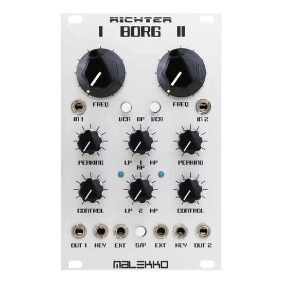 Richter Dual Borg filter - Malekko