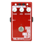 Malekko Ekko 616 delay pedal