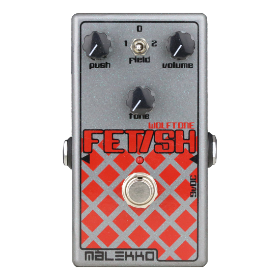 Overdrive fuzz pedal by Malekko