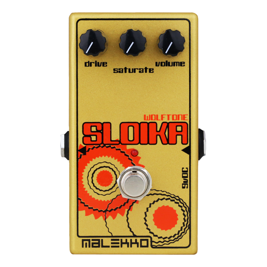 Malekko distortion pedal Sloika MKII